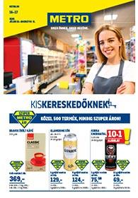 Metro katalógus Kiskereskedőknek 2020. 07.15-08.11