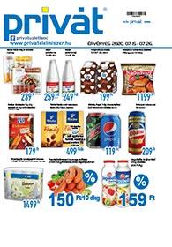 Privát Élelmiszer akciós újság 2020. 07.15-07.26
