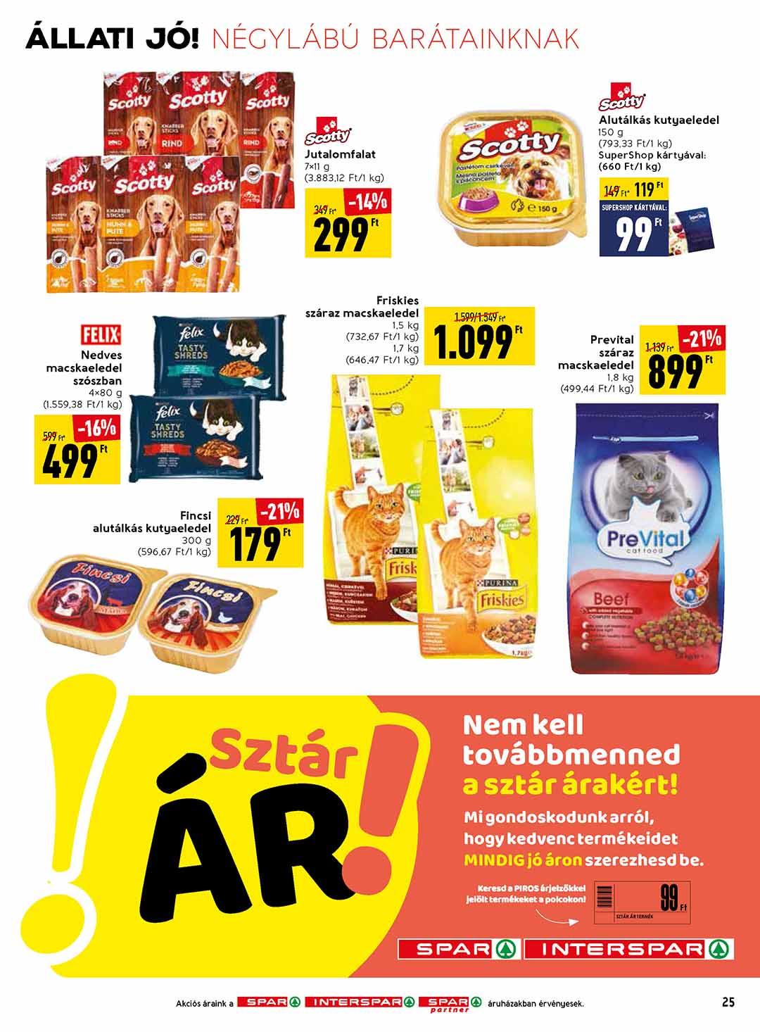 Spar akciós újság 2020. 07.16-07.22