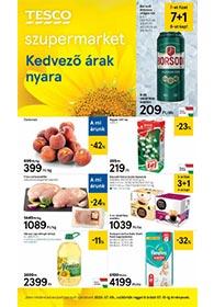 Tesco szupermarket akciós újság 2020. 07.09-07.15
