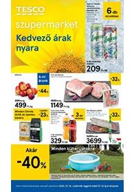 Tesco szupermarket akciós újság 2020. 07.16-07.22