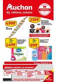 Auchan akciós újság 2020. 08.06-08.12