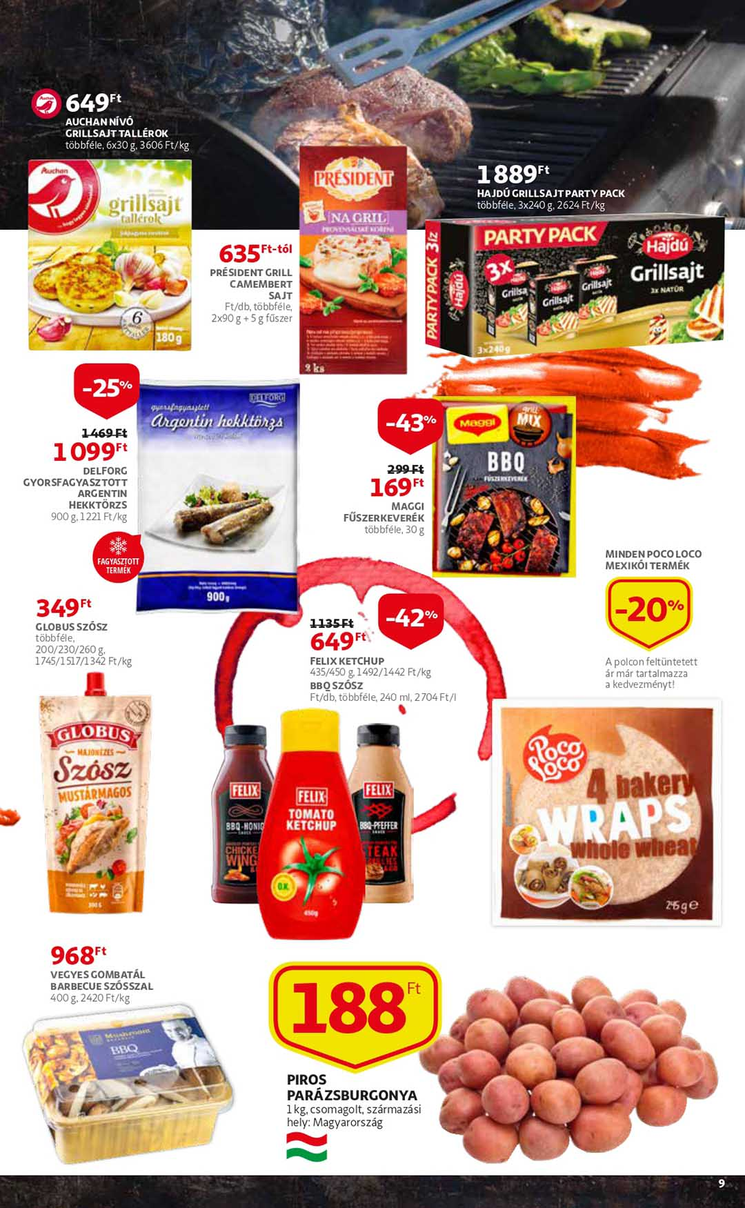 Auchan akciós újság 2020. 08.21 08.26 Akciós Újság.hu