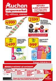 Auchan Szupermarket akciós újság 2020. 08.06-08.12