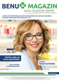 BENU akciós újság 2020. 08.01-08.31