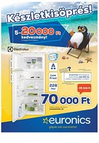 Euronics akciós újság 2020. 08.04-08.10