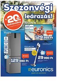 Euronics akciós újság 2020. 08.11-08.17