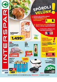 Interspar akciós újság 2020. 08.13-08.19