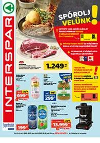Interspar akciós újság 2020. 08.19-08.26