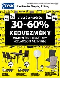 JYSK akciós újság 2020. 07.30-08.12