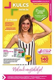 Kulcs patika akciós újság 2020. 08.01-08.31