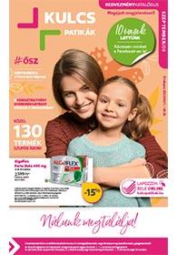 Kulcs patika akciós újság 2020. 09.01-09.30