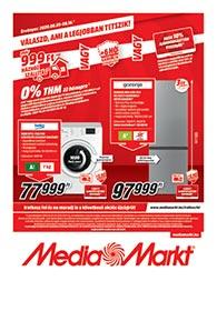 Media Markt akciós újság 2020. 08.05-08.16