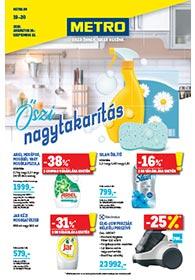 Metro Őszi nagytakarítás katalógus 2020. 08.26-09.22