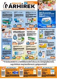 Pingvin Patika akciós újság 2020. 08.01-08.21
