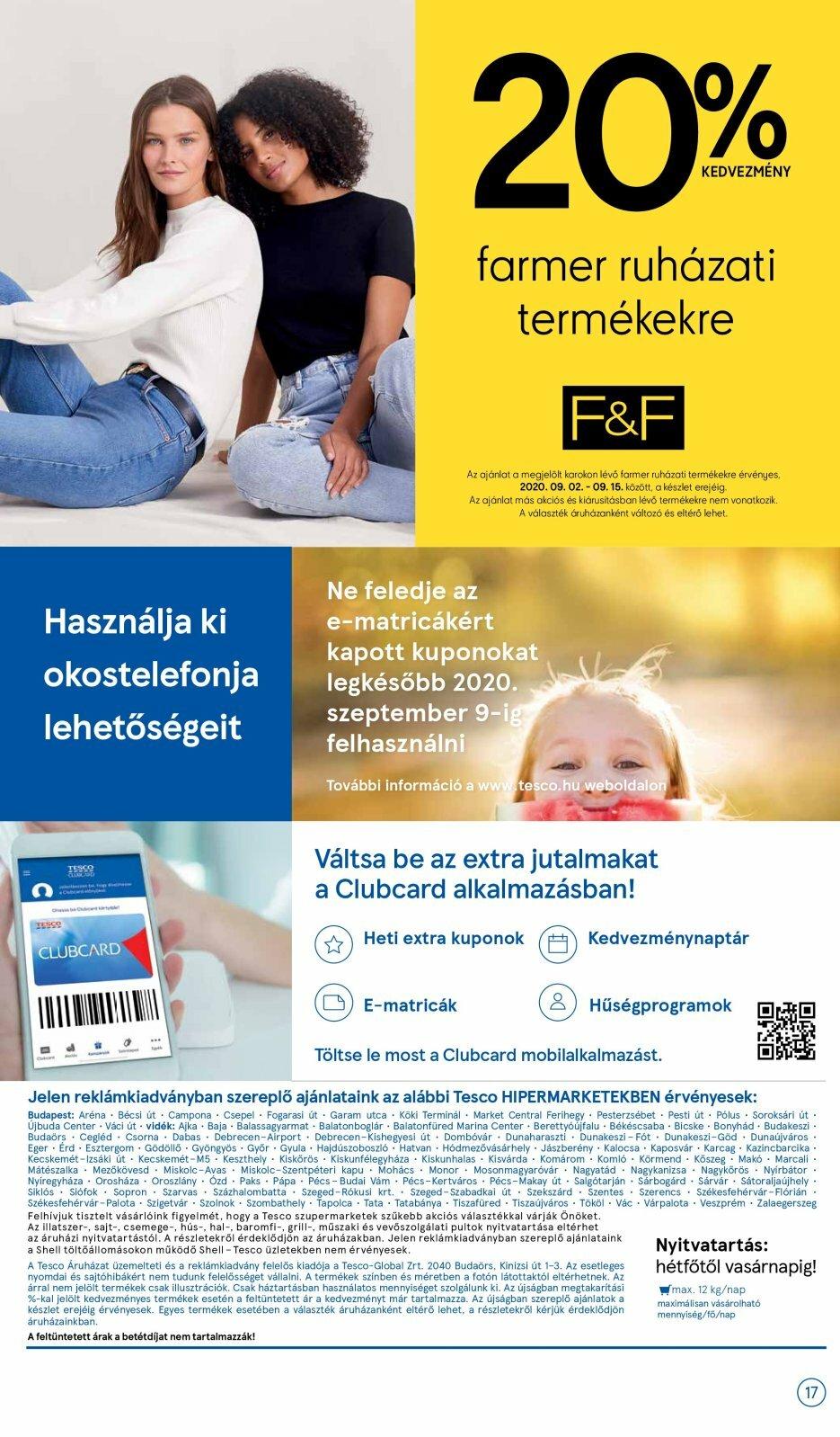 Lapozható Tesco akciós újság 2020. 09.03-09.09