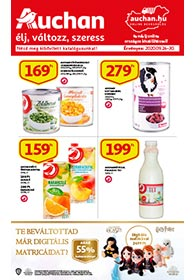 Auchan akciós újság 2020. 09.24-09.30