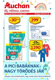 Auchan Boldog Babák katalógus 2020. 09.17-09.30