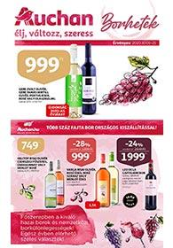 Auchan Borhetek akciós újság 2020. 10.01-10.21