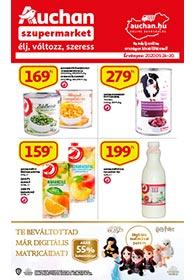 Auchan Szupermarket akciós újság 2020. 09.24-09.30