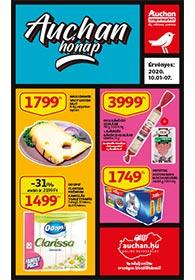 Auchan Szupermarket akciós újság 2020. 10.01-10.07
