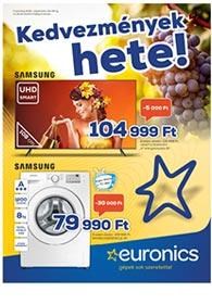 Euronics akciós újság 2020. 09.22-09.28