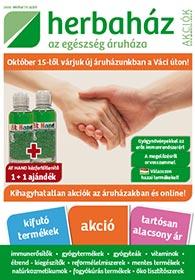 Herbaház akciós újság 2020. 09.28-10.31