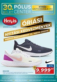 Hervis Pólus Center akciós újság 2020. 09.03-09.06