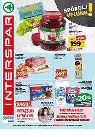 Interspar akciós újság 2020. 10.01-10.07