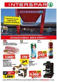 Interspar Dunaújváros akciós újság 2020. 09.17-09.23