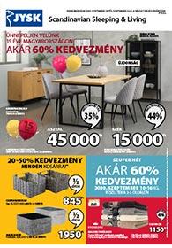 JYSK akciós újság 2020. 09.10-09.23
