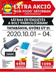 Lidl Tatabánya akciós újság 2020. 10.01-10.04