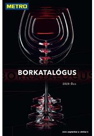 Metro Borkatalógus katalógus 2020. 09.09-10.06