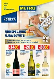 Metro HORECA katalógus 2020. 09.09-10.16