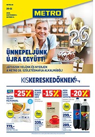 Metro katalógus Kiskereskedőknek 2020. 09.09-10.06