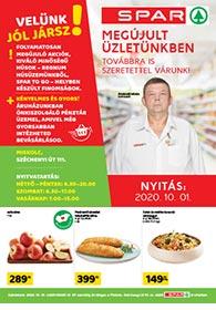 Spar Miskolc akciós újság 2020. 10.01-10.07