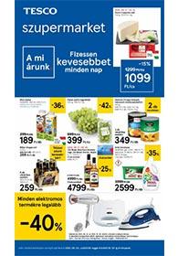 Tesco szupermarket akciós újság 2020. 09.24-09.30