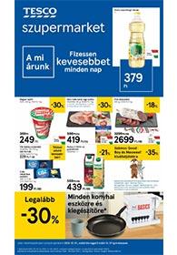 Tesco szupermarket akciós újság 2020. 10.01-10.07