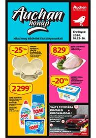 Auchan akciós újság 2020. 10.22-10.28