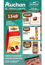 Auchan Csoki katalógus 2020. 10.15-10.28
