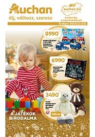 Auchan Játékkatalógus 2020. 10.22-12.05