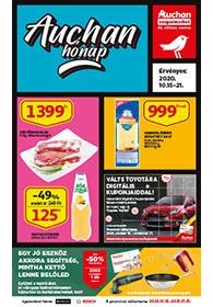 Auchan Szupermarket akciós újság 2020. 10.15-10.21