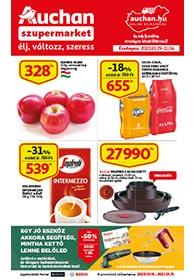 Auchan Szupermarket akciós újság 2020. 10.29-11.04