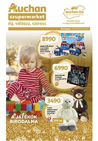 Auchan Szupermarket Játékkatalógus 2020. 10.22-12.02