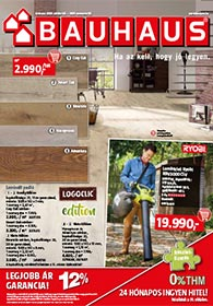 Bauhaus akciós újság 2020. 10.06-11.02