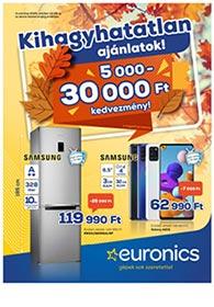 Euronics akciós újság 2020. 10.13-10.19