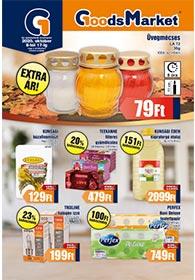 Goods Market akciós újság 2020. 10.08-10.17