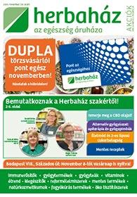 Herbaház akciós újság 2020. 11.02-11.29