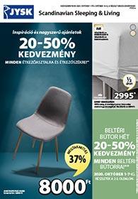 JYSK akciós újság 2020. 10.01-10.14