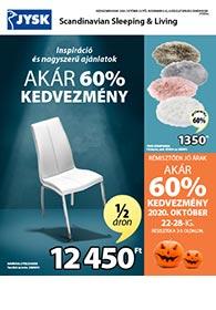 JYSK akciós újság 2020. 10.22-11.04